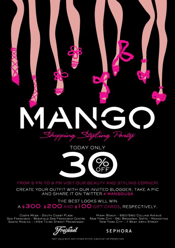 Meet me at Mango TODAY