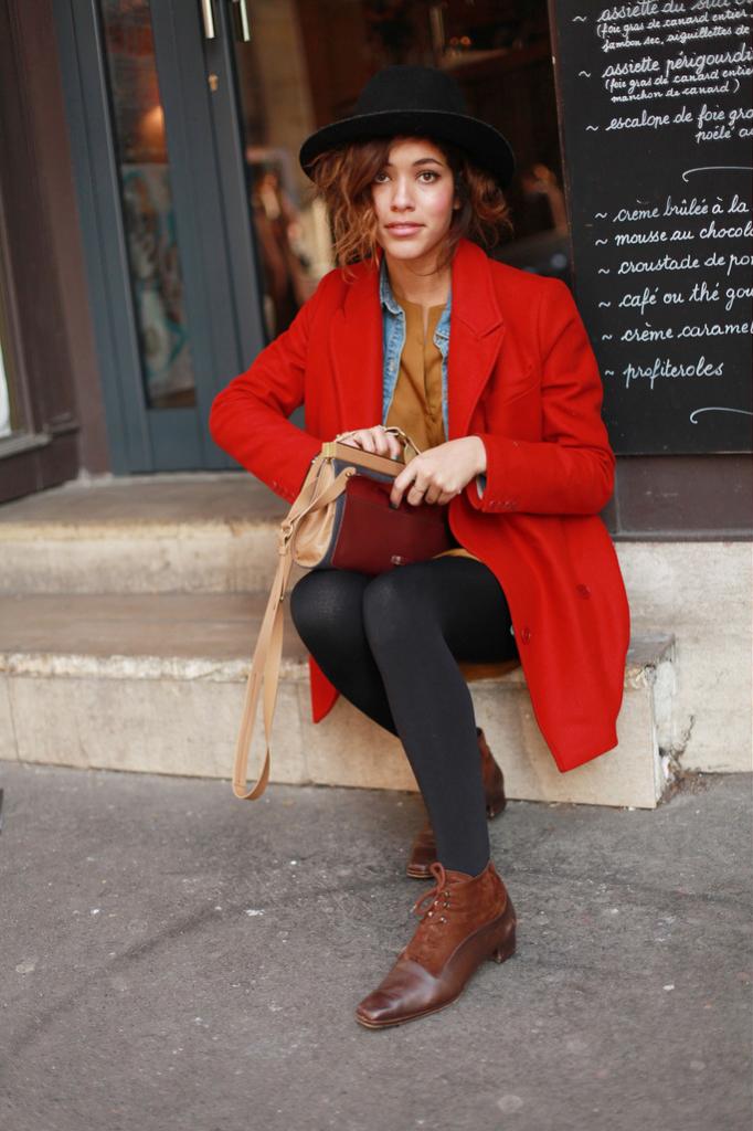 Red in Paris
