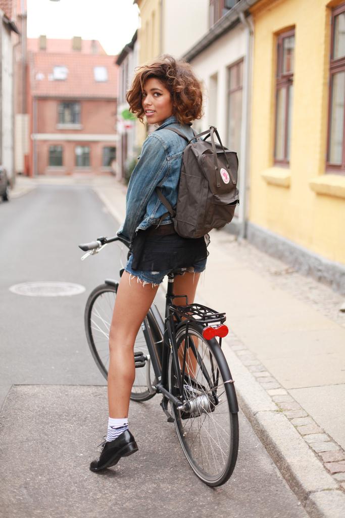 Biking in Roskilde