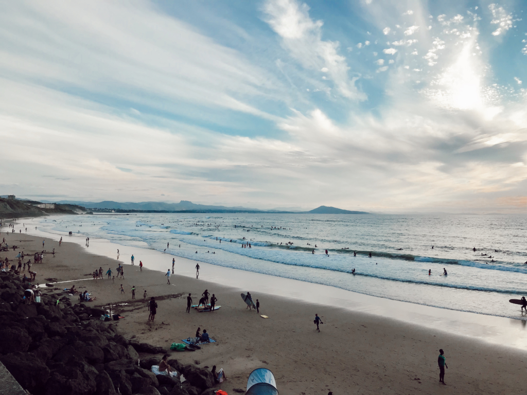 A Diary: Biarritz & thoughts on Flying